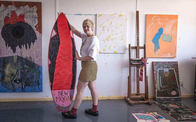 Grace Cross - Wavescape Art Board Project 2019
