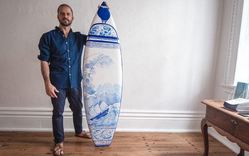 Michael Chandler - Wavescape Art Board Project 2019